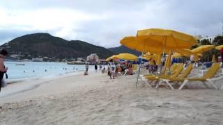 sant martin beach (карибские острова)(, 2011-09-04T00:09:04.000Z)