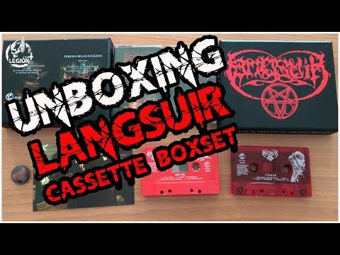 UNBOXING - LANGSUIR - CEMAR / DIRGHA BELASUNGKAWA - DOUBLE CASSETTE BOXSET EDITION
