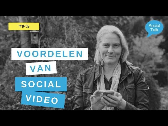 De voordelen en impact van social video