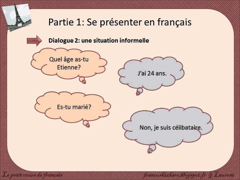 Top Se Présenter - Lessons - Tes Teach WJ21