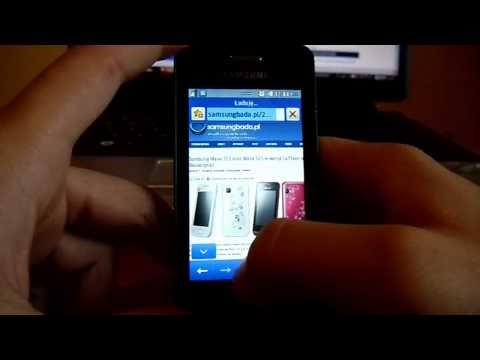 Internet w Samsung Wave 723. samsungbada.pl