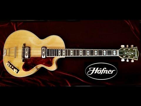 hofner electric guitar models