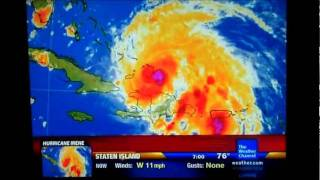 IntelliStar Aug. 23, 2011 6:58pm and Weather Center Live
