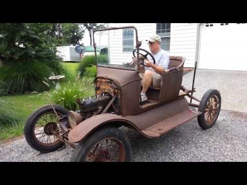 Still Running !! Model T Ford Starts 60 Years Old ✔