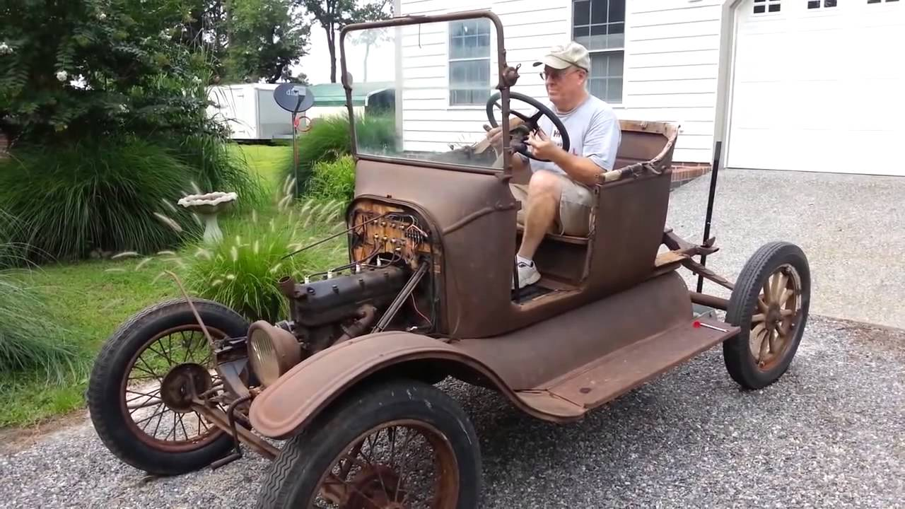 Still Running !! Model T Ford Starts 60 Years Old ✓ - YouTube