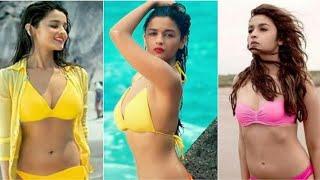 Alia Bhatt Hot and Sexy pics | bikini | Navel