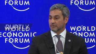 Switzerland: Latin American presidents demand solution to Venezuela crisis - Davos WEF