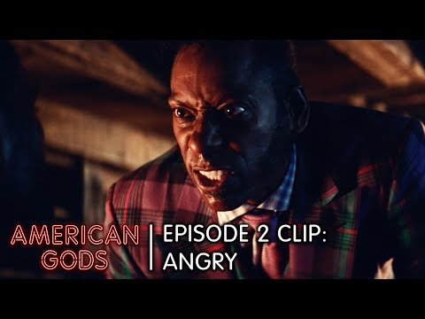 Angry  American Gods Episode 2