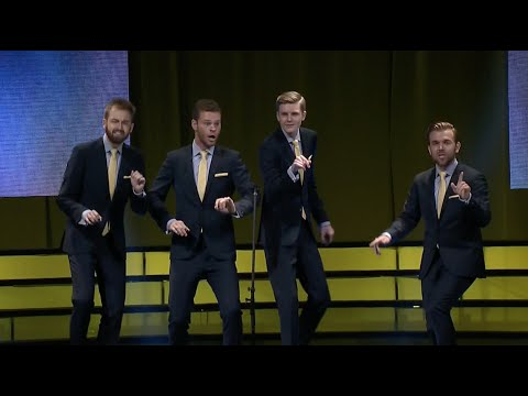 The 2016 Barbershop Quartet International Finalists!