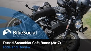Ducati Scrambler Cafe Racer (2017) - First ride and review | BikeSocial