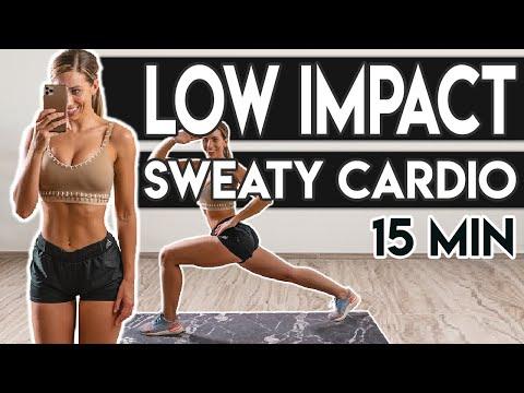 Low Impact SWEATY CARDIO | HILIT Workout | 15 Min 💦