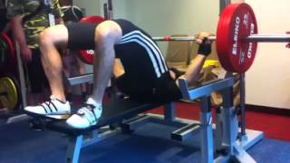 Download Video Yuki Fukushima 170kg RAW Bench Press @83kg MP3 3GP MP4