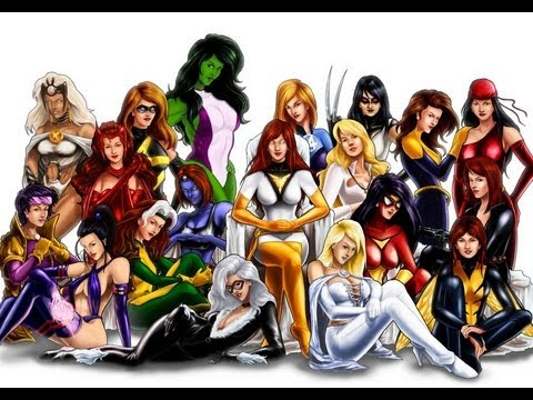 Marvel producer louis d 39 esposito talks female super hero 39 s - Female cartoon characters wallpapers ...