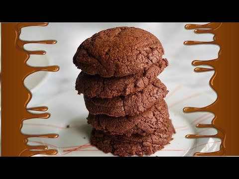 cookies-brownie-au-chocolat-🍪-la-recette-facile-et-rapide.-deli-cuisine