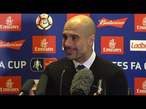 West Ham 0-5 Manchester City - Pep Guardiola Full Post Match Press Conference - FA Cup