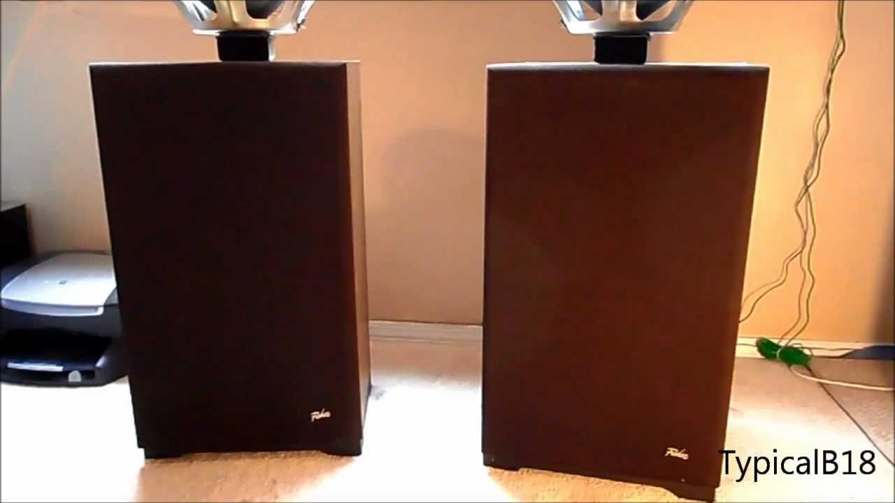 Fisher Nl8139 124 Floor Standing Speakers Short Look Only