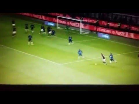 Riccardo Montolivo vs Inter at home - 2016-01-31