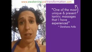"""Tantra Massage Testimonial by """"Enlightened Focus"""" - India 2016"""