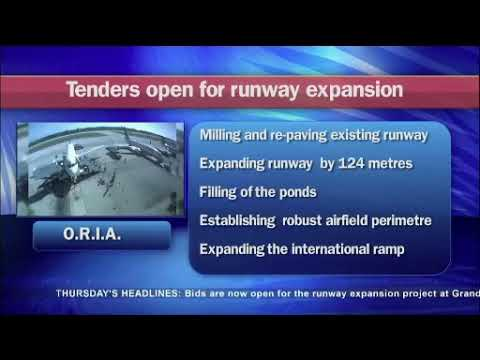 ORIA runway expansion bidding process opens