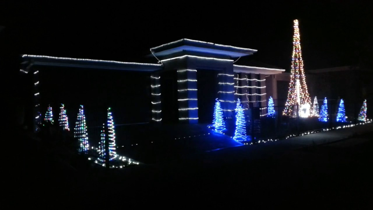Arduino + Vixen Christmas Lights Display 2016 - YouTube