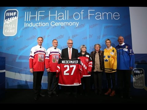 2015 IIHF Hall of Fame - Induction Ceremony