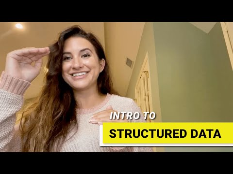 INTRODUCTION TO STRUCTURED DATA