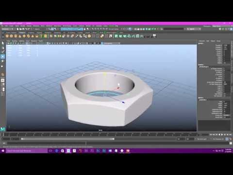 Maya 2017 Nuts & Bolts modeling