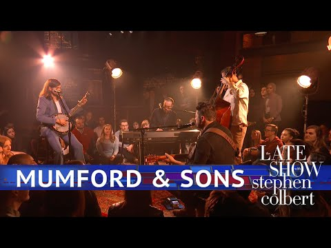 Amber Miller - While you were zzz'ing:  Mumford & Sons did Beloved on Colbert - WATCH