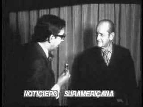 Noticiero Suramerica entr. General Gustavo Rojas Pinilla