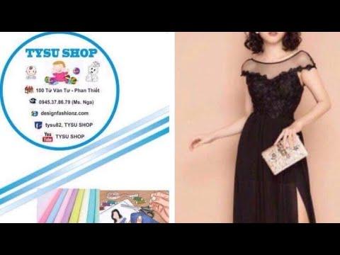 461-thiết Kế Đầm Tay Liền dạy cắt may online miễn phí   sewing online class free   tysu shop