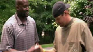 Shaq hangs out with Ben Roethlisberger