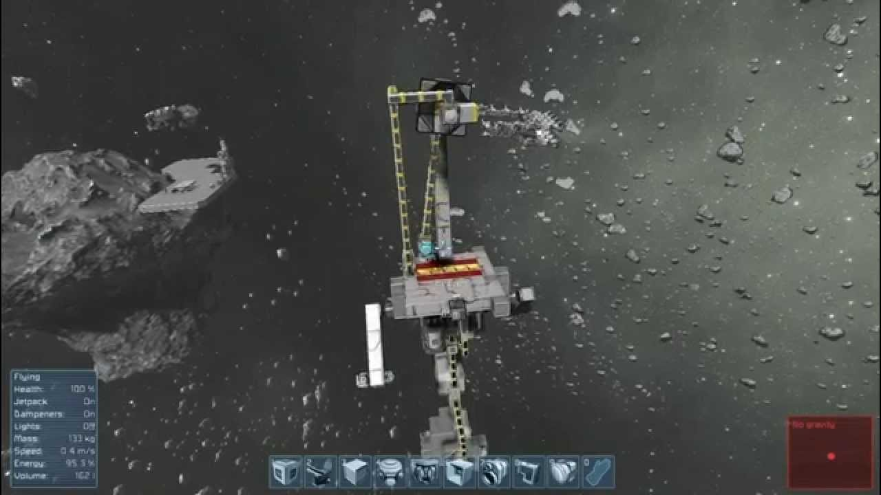 space engineers basic refinery