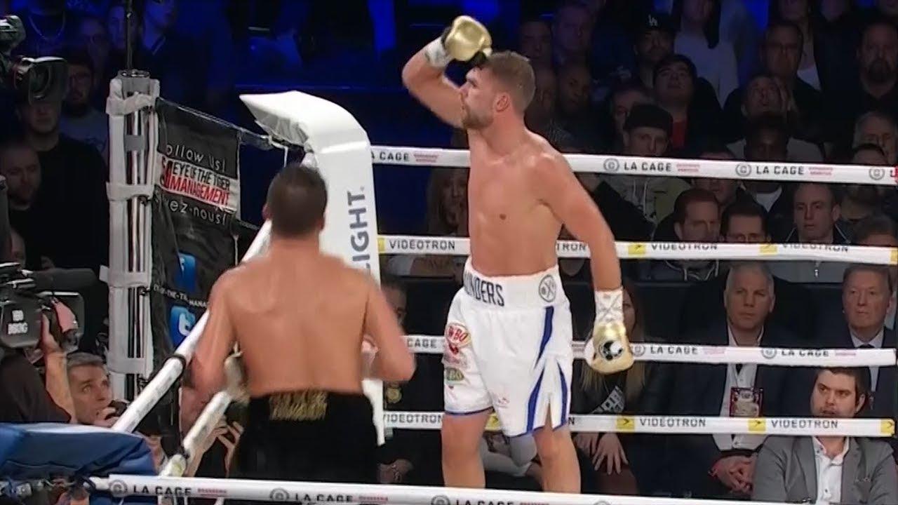 Boxing masterclass! Billy Joe Saunders v David Lemieux official highlights  - YouTube
