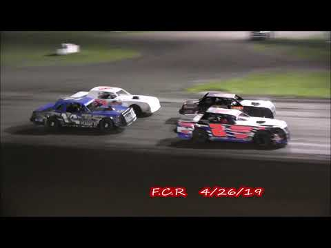 Farmer City Street Stock Heat Races 4 26 19