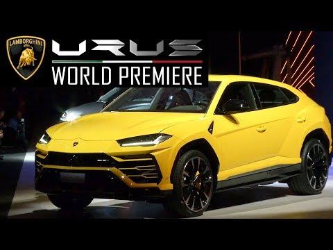 2018 Lamborghini Urus World Premiere