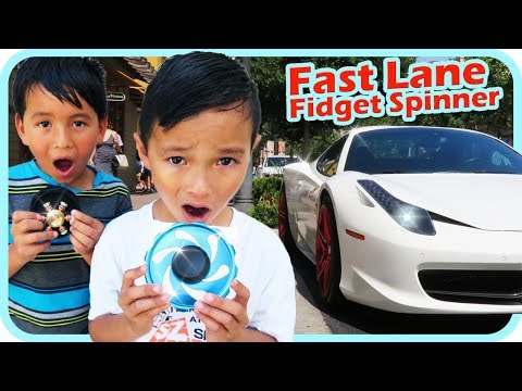 Thumbnail: FIDGET SPINNER Toy hunt at Shopping Mall 2, Lamborghini, Ferrari, Bentley, BMW - TigerBox HD