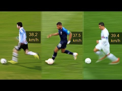Messi, Mbappe, Ronaldo Crazy Speed Show |HD
