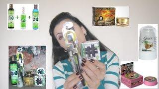 Тайская косметика // Irinka Pirinka(Всем привет! Сегодня видео про мои новинки тайской косметики и мое первое мнение Травяной шампунь от выпаде..., 2015-10-05T20:25:43.000Z)