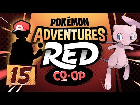 """MORPHING MEW?!"" Pokémon Adventures Red Co-op Ep 15 w/ TheKingNappy + JoeyPokeaim!"