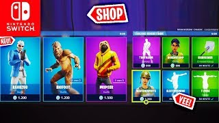 NEW RAUBZUG SKIN - Today's Shop | Fortnite Nintendo Switch