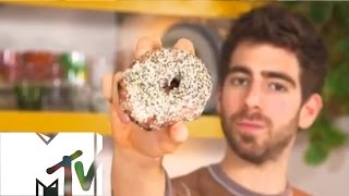 Stuffed Bagel Donut - Brothers Green: Eats | Mtv Uk