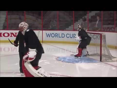 Gotta See It: Price making saves during Team Canada skate