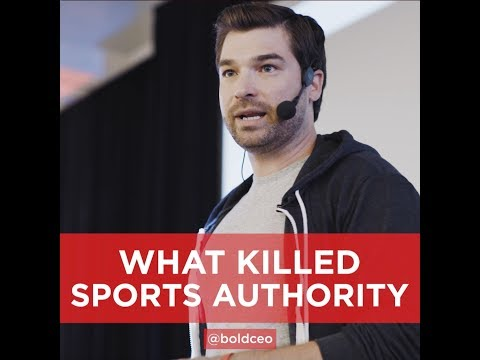 Why Sports Authority Went Bankrupt