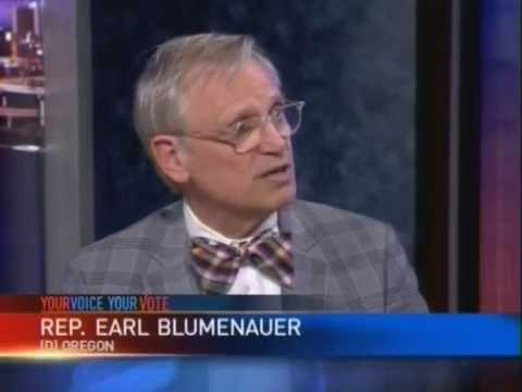 Your Voice, Your Vote: Rep. Earl Blumenauer - It's Time for Common Sense - End Marijuana Prohibition