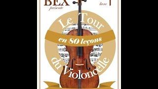 """Accompagnement leçon 19 """"Nuit Balte"""" livre 1 """" Le tour du violoncelle en 80 leçons"""""""