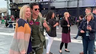 Top Gun Maverick meets fans in San Diego.