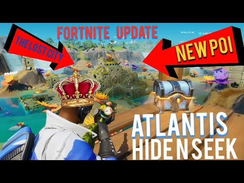 New Update Best Hiding Spots In New Atlantis Poi Fortnite Chapter 2 Season 3 Lost City Update Youtube