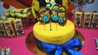 Торт на День Рождения ребенку. Торт своими руками | Анюта Журило