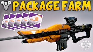 Destiny: EASY VANGUARD PACKAGE FARM! Quick Packages & Strike Farming Guide