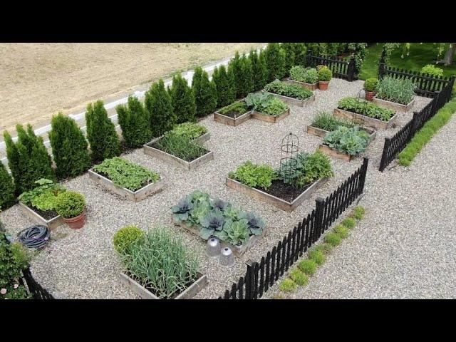 My Vegetable Garden Layout & Tour! // Garden Answer